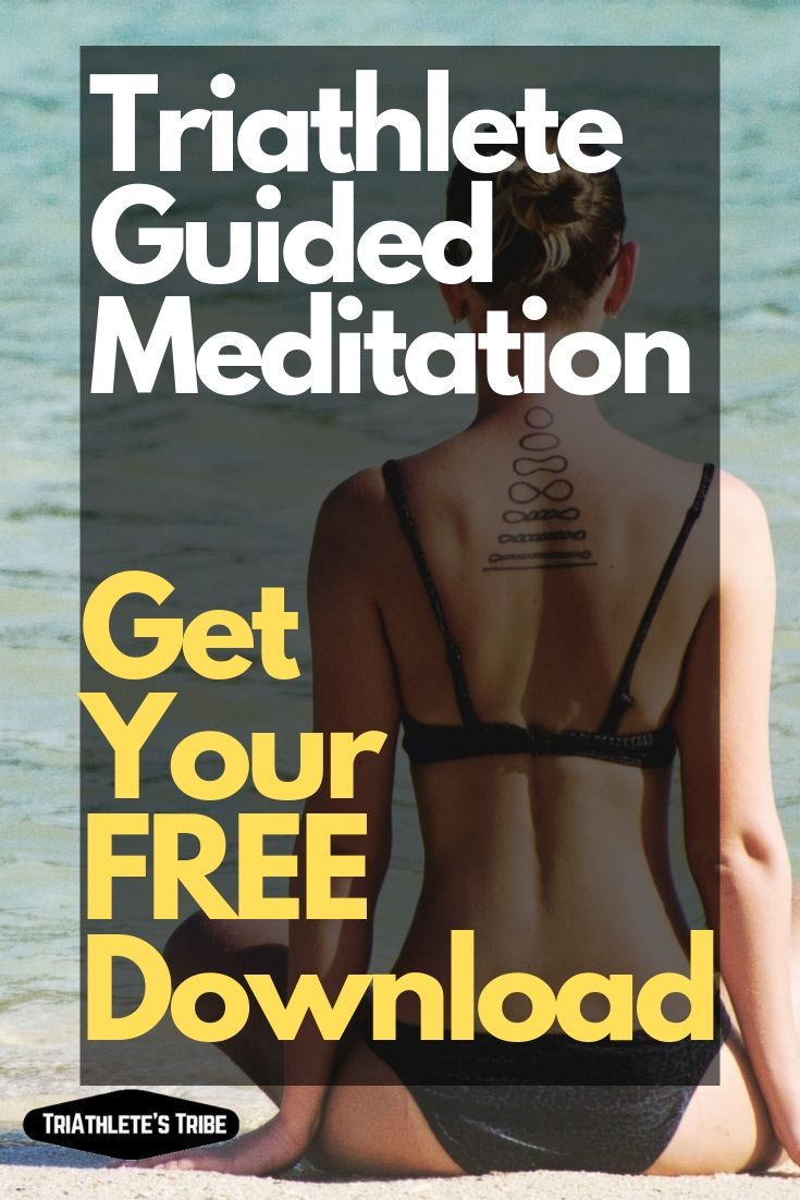 Guided Meditation for Triathletes - Woman Meditating