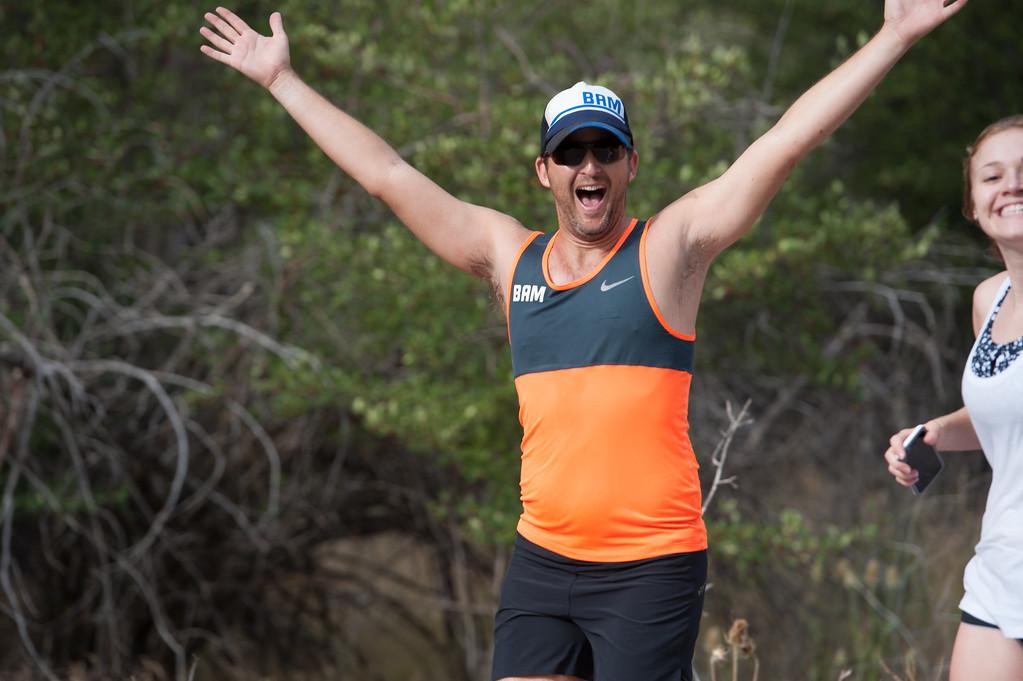 Jordanelle Triathlon Happy Runner