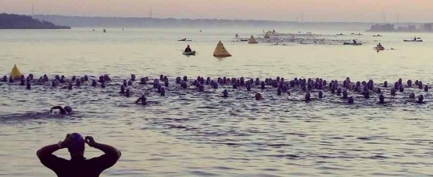 Tugaloo Triathlon Swim