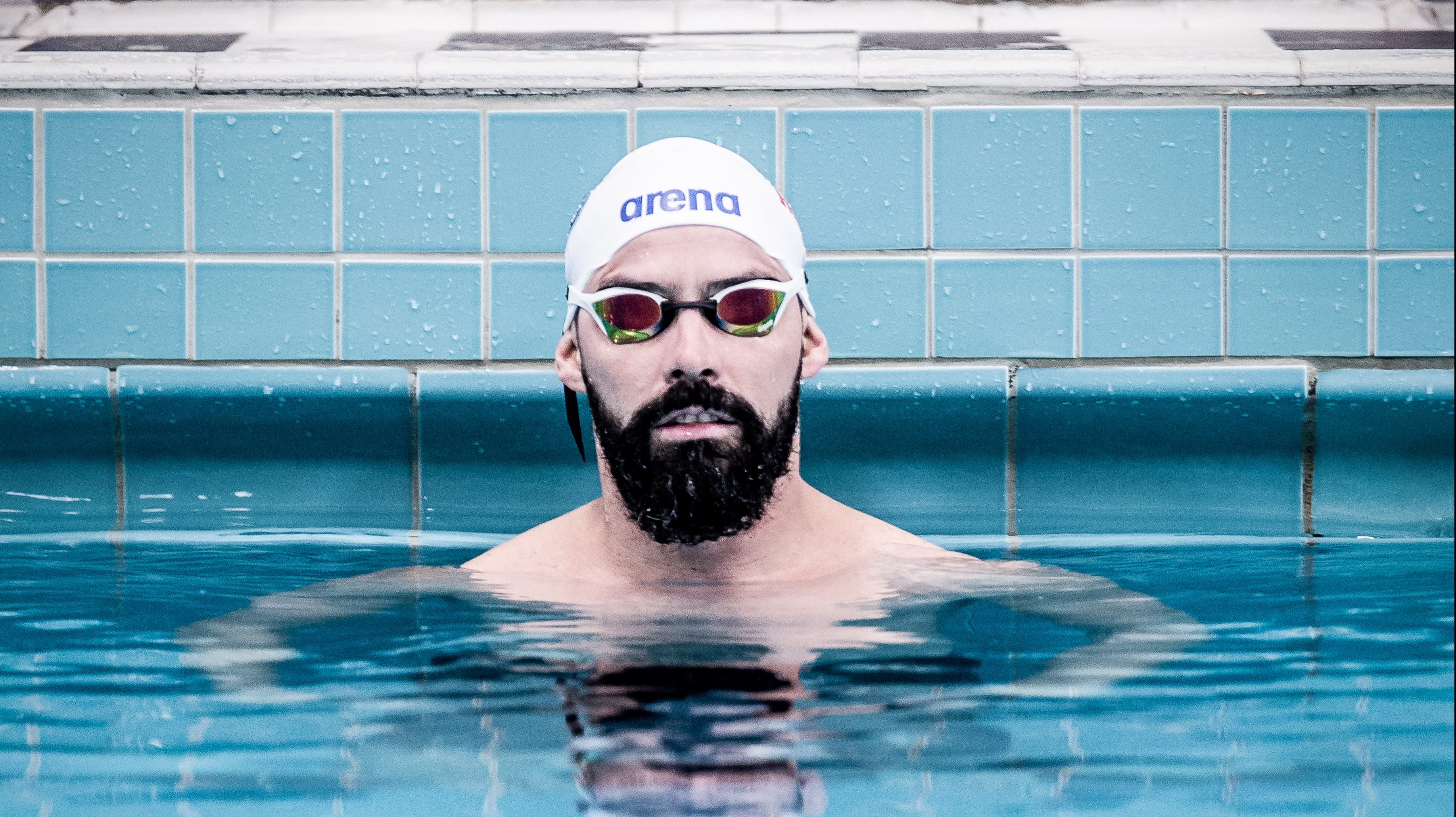 Swimming Goggles for Triathlon - Swimming in Pool