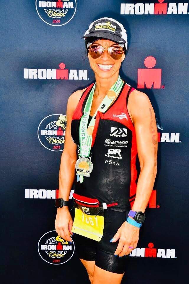 Ironman Florida 70.3 - Lina's Ironman picture