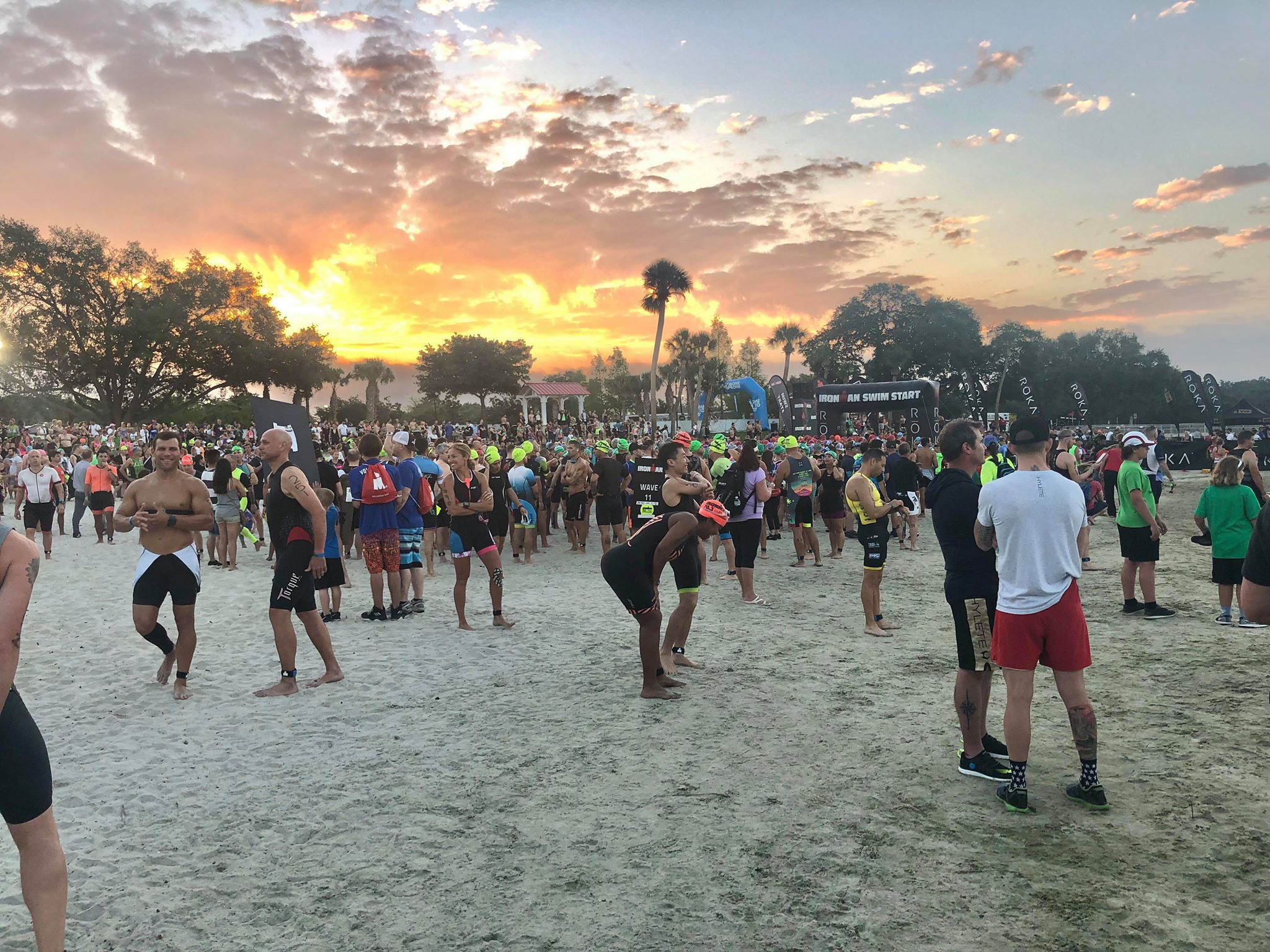 Ironman Florida 70.3 - Start Line