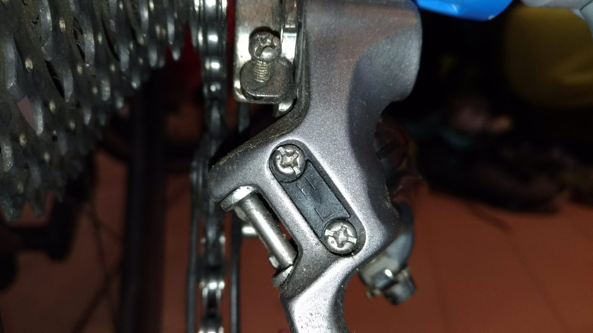"Adjusting Rear Derailleur - Upper Limit ""H"" Screw"