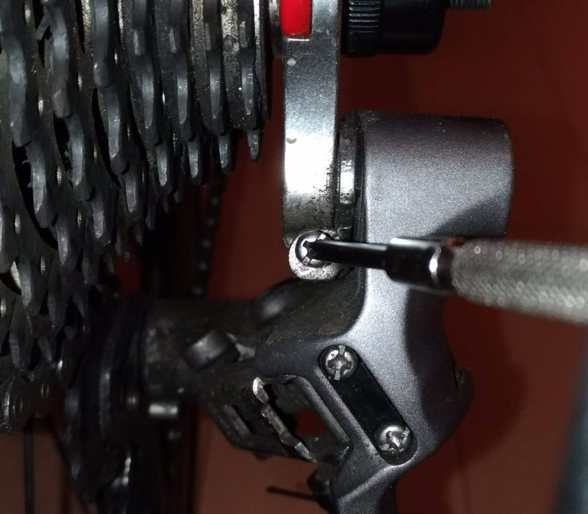 Adjusting Rear Derailleur - Adjusting B-Tension Screw