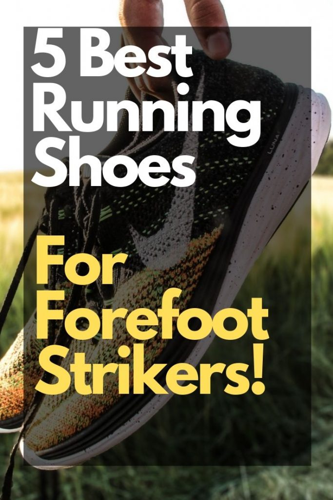 shoes with forefoot cushioning
