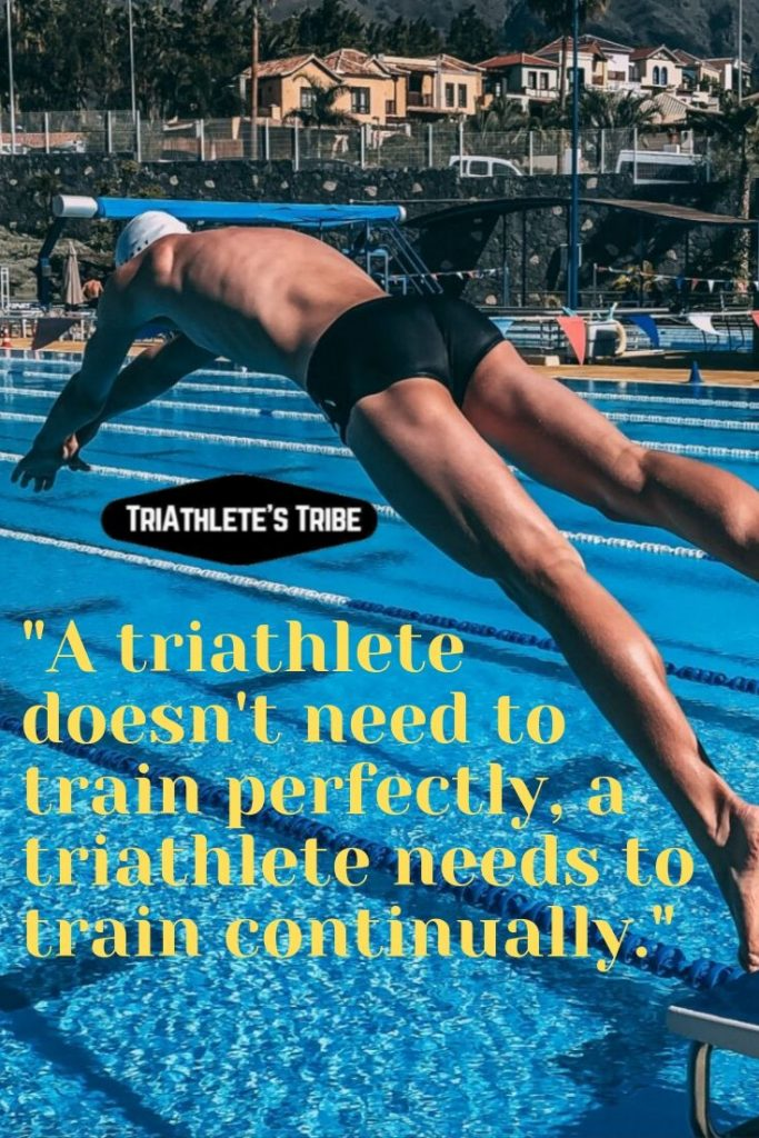 Triathlon Quotes - Persistence Not Perfection