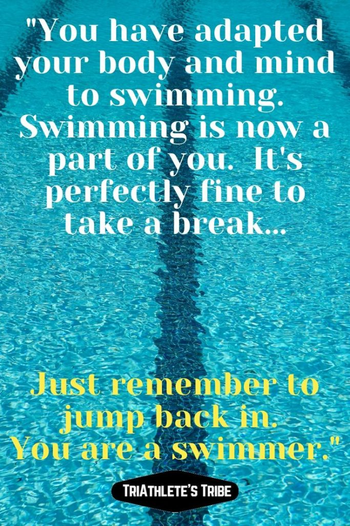 Swimming Quotes - It's a part of you