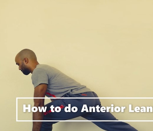 Anterior Leaning Lunge - Final Position