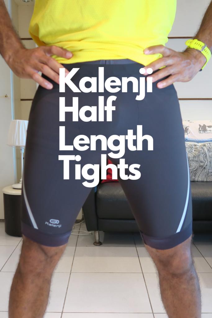 Kalengi Half Length Tights - Men's Running Shorts