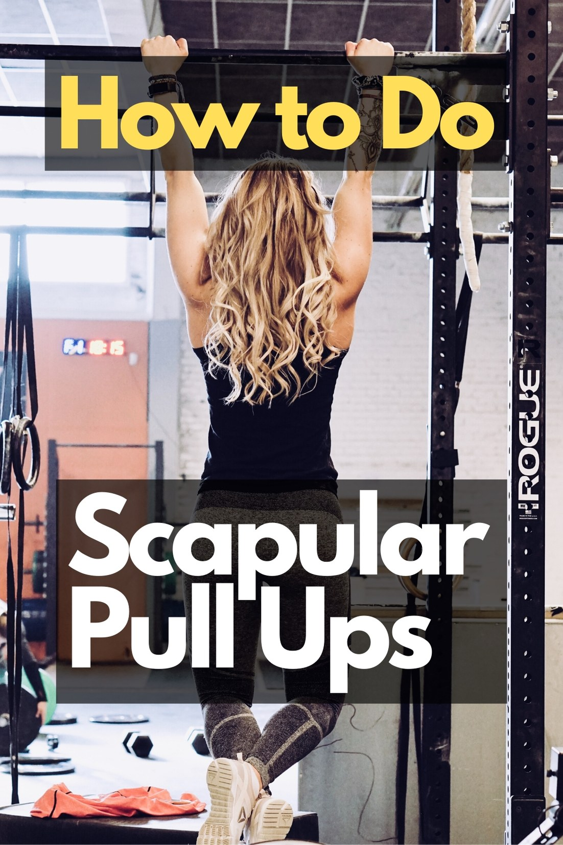 Scapular Pull Ups - How to do them