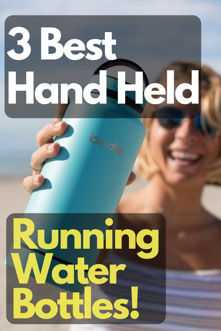 Hand Held Running Water Bottle