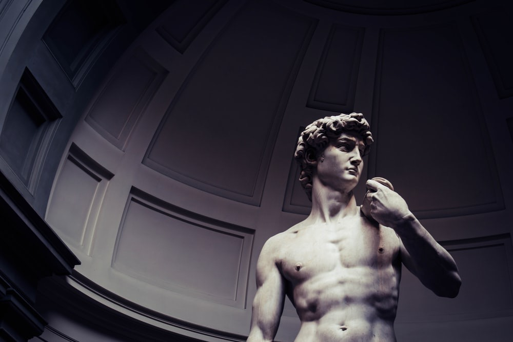 Are Triathletes Muscular - Picture of the Statue of David